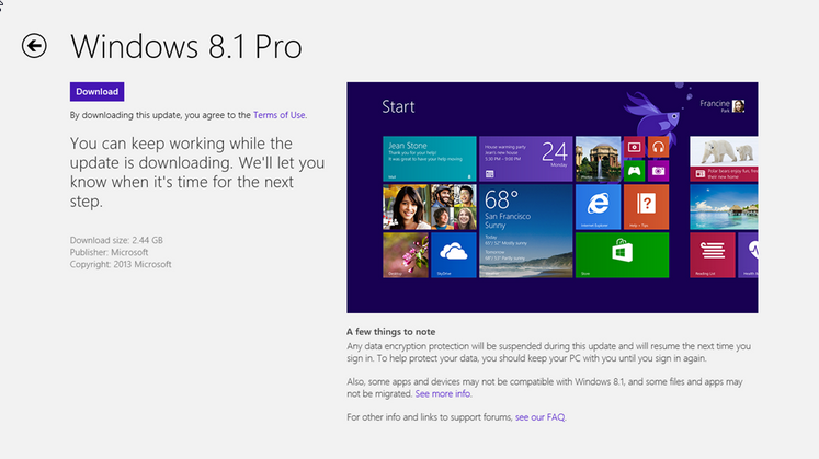 Windows 8 to Windows 8.1 Update Error Fix | Configure Club